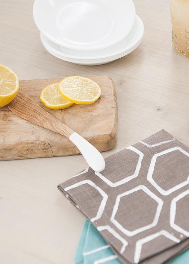 cardboard stamping on fabric