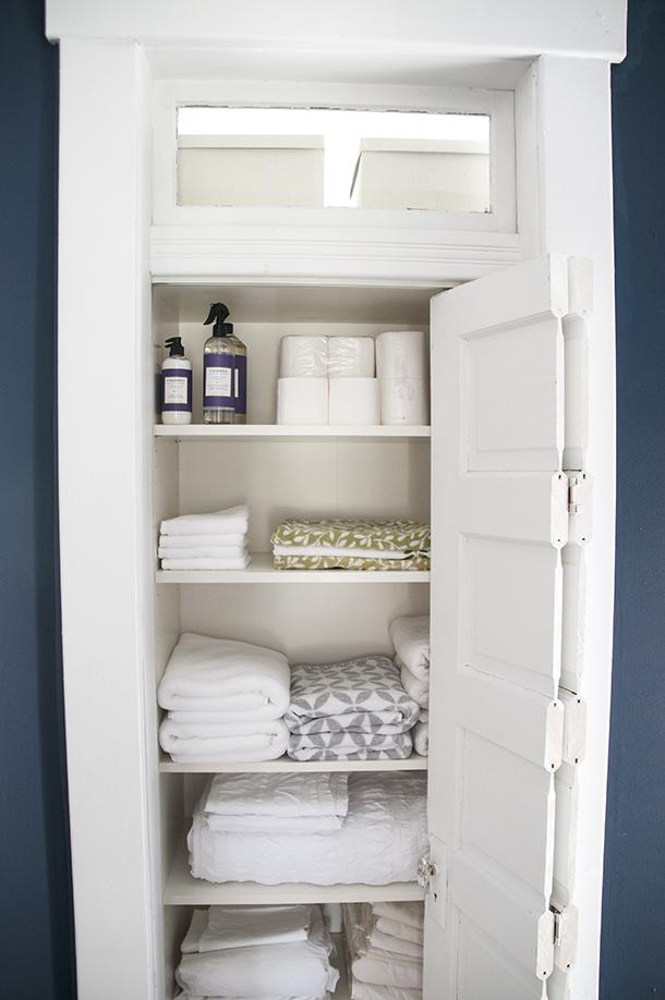 creating a linen closet1