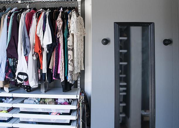 linen closet extension