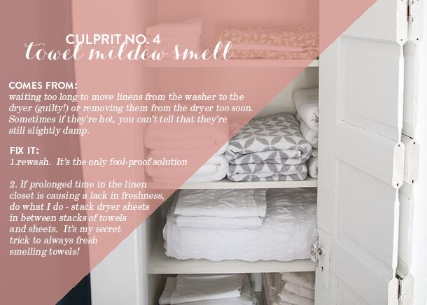 mildew towels