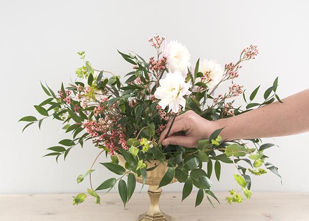 floral design flower placement