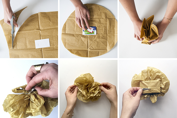 gift card pouf pin tutorial
