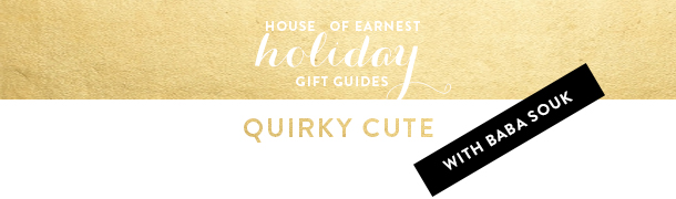 gift guide quirky