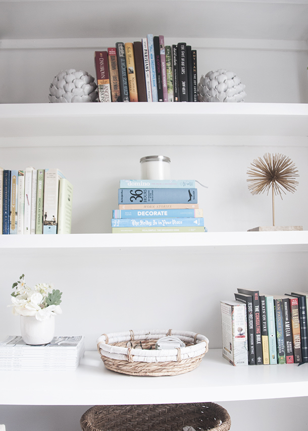 3 Bookshelf Styling Problems And How To Solve Them Earnest Home Co