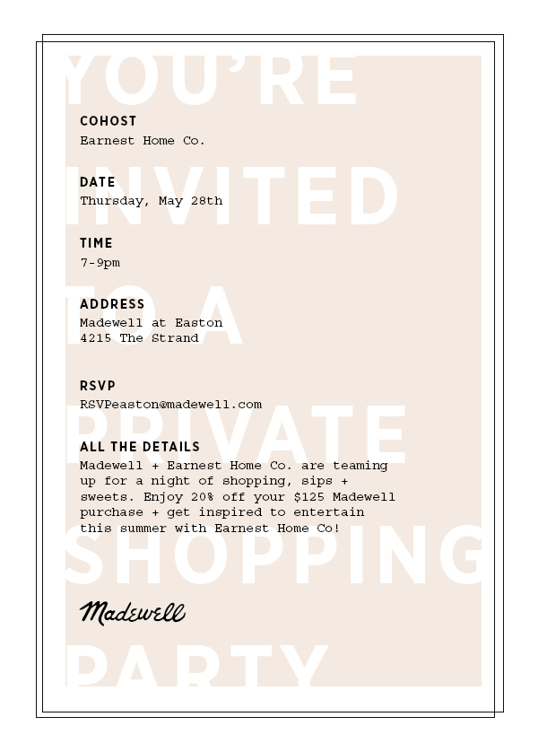 madewell event