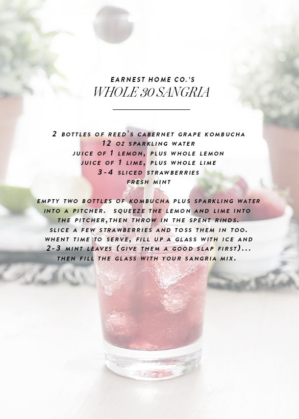 whole 30 sangria recipe