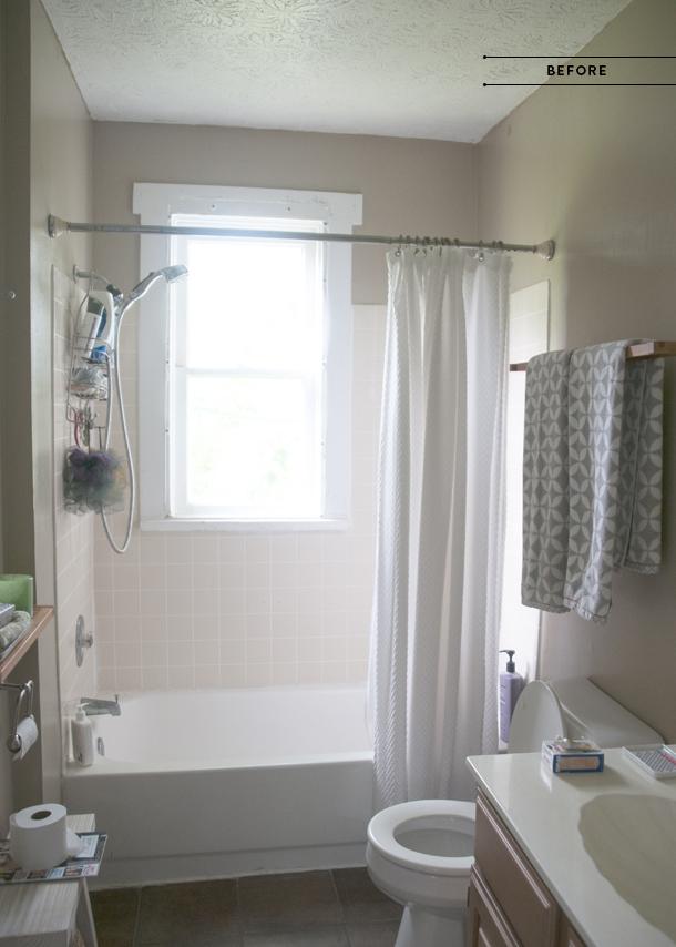 bathroom redesign before