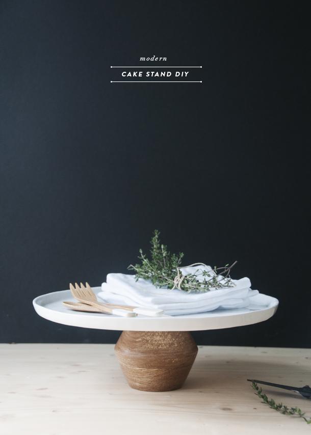 modern cake stands