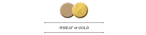 wheat and gold