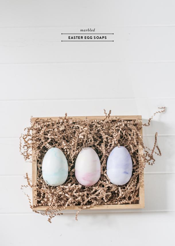 marbled easter egg soaps