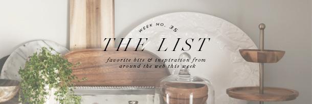 the list header wk35