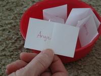 Angie's name drawn as winner