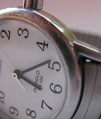 sideways picture of watch