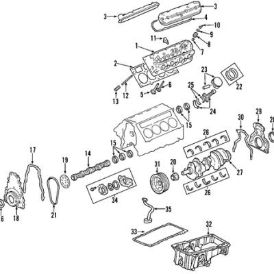 Chevy Valve Seals Chevy Water Pump Wiring Diagram ~ Odicis