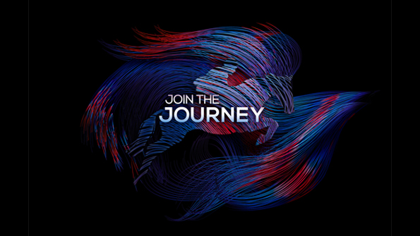 join the journey messaging with. Earnie creative design