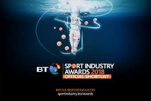 BT Sports Industry Awards Shortlist Creative. Earnie Creative Design