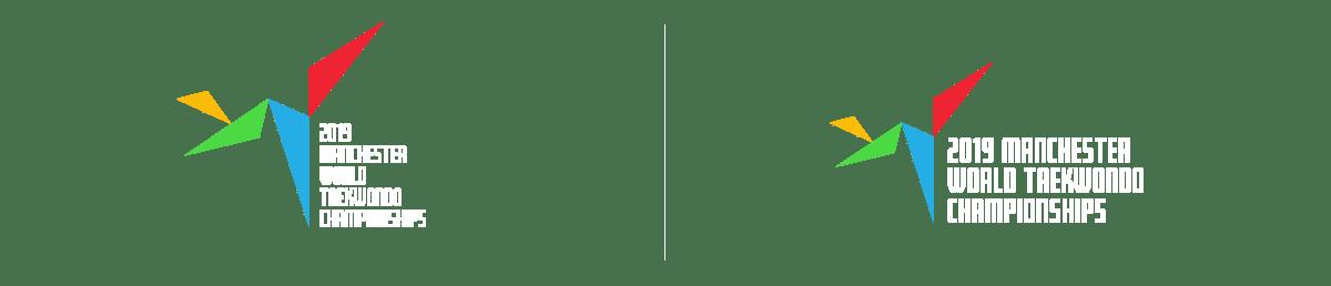 GB Taekwondo World championships 2019 Logos. Earnie creative design
