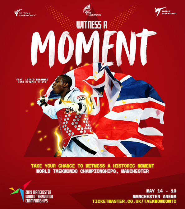 GB Taekwondo- World Championships MOMENT creative. Earnie creative design