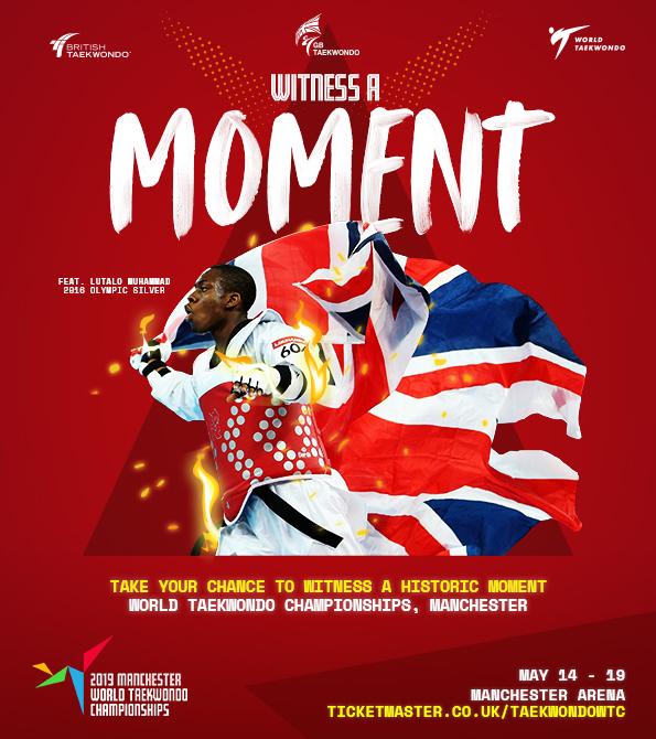 GB Taekwondo- World Championships MOMENT creative. Earnie creative design