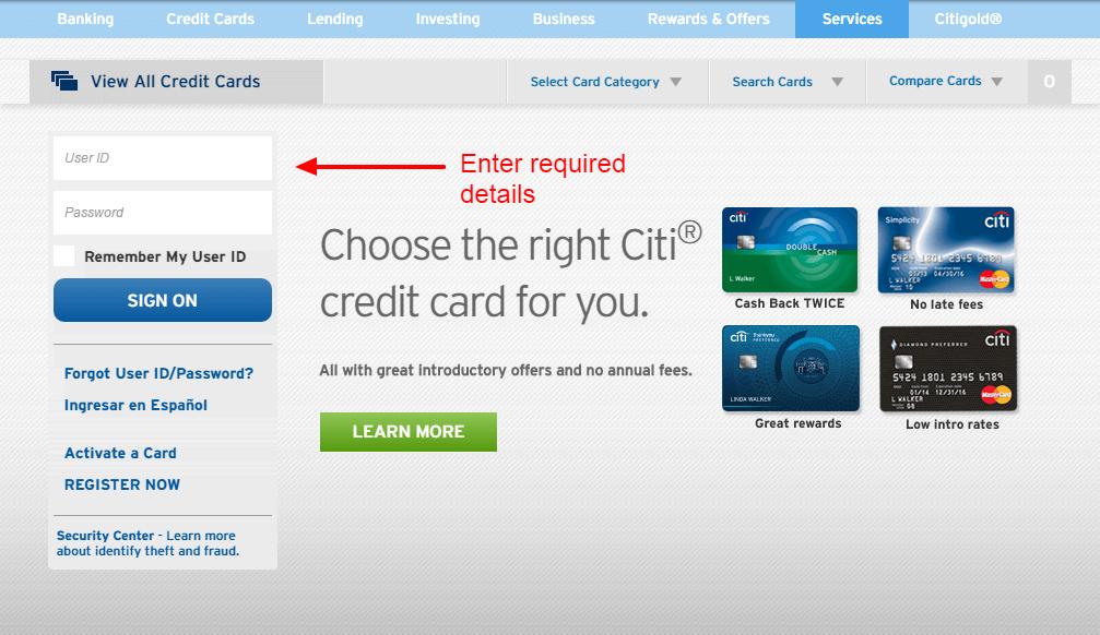 Citibank Dod Travel Card Online Login | Anexa Wild