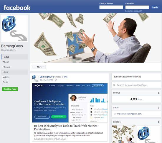 Promoting Website on Facebook