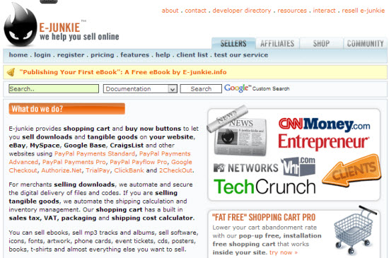 E-junkie affiliate network