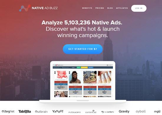 Native Ad Buzz Ad Spy tool