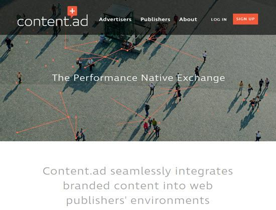 Content.ad Native Ad Networks