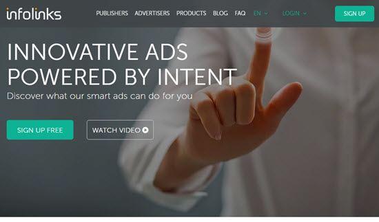 Infolinks CPC Ad Network