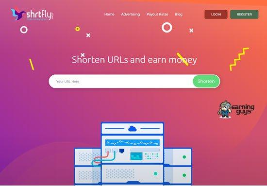 Shrtfly Highest Paying URL Shortener