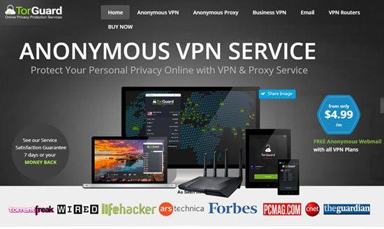 TorGuard Best VPN Service Providers