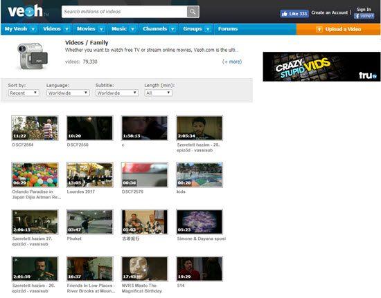 Veoh YouTube Alternatives