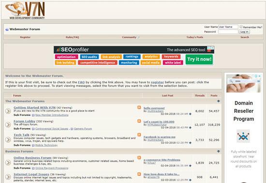 V7 Network Best Affiliate Marketing Forums