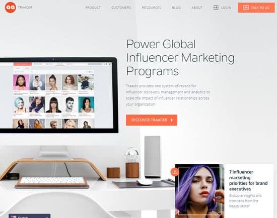 Traackr Influencer Marketing Tool
