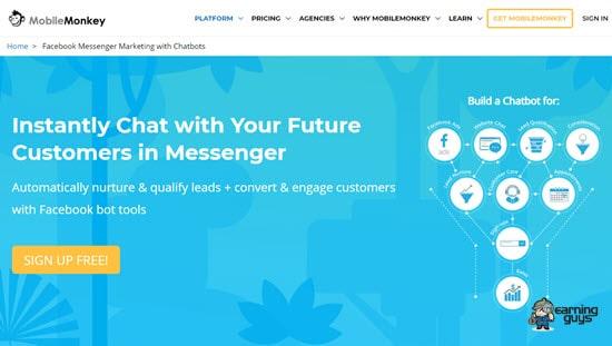 MobileMonkey Facebook Chatbot