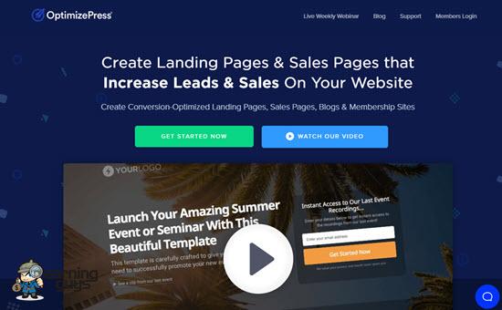 OptimizePress WordPress Landing Page Plugin
