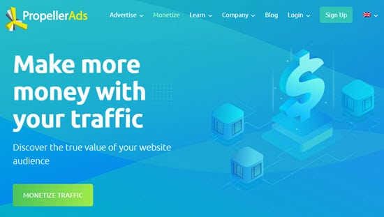 Propeller Ads Publisher Ad Network