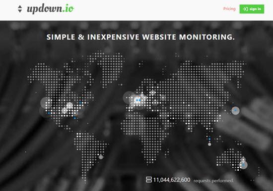 Updown Website Uptime Checker