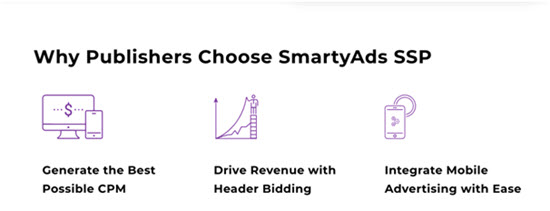 SmartyAds SSP - Best Ad Network for Monetization