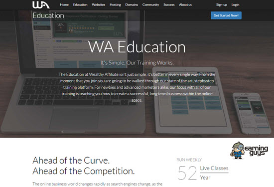 Wealthy Affiliate Marketing Courses