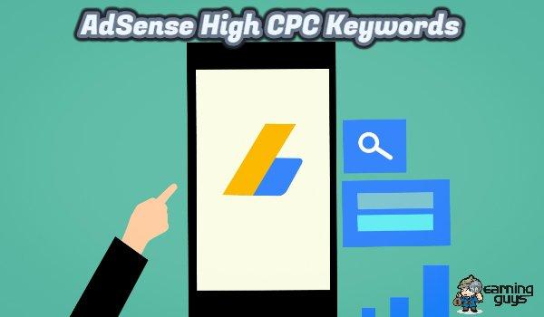 Top Paying AdSense Keywords