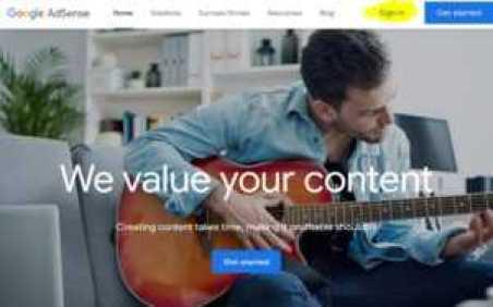Create Google AdSense Account