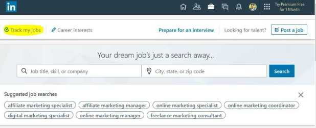 Track Your jobs