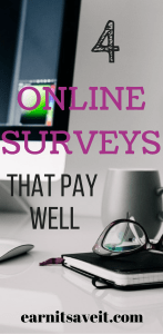 4 Online Survey Sites Worth Using for Extra Money