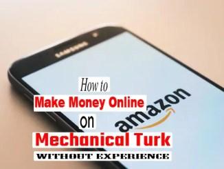 Amazon Mechanical Turk earn easy money online fast side hustle