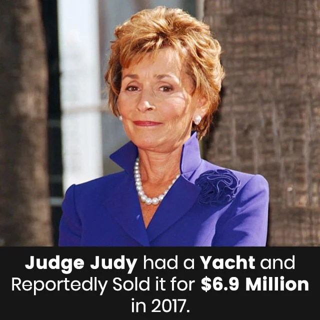 Judge Judys Estimated Net Worth 2018 Is 3500 Million