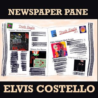 Elvis Costello - Newspaper Pane