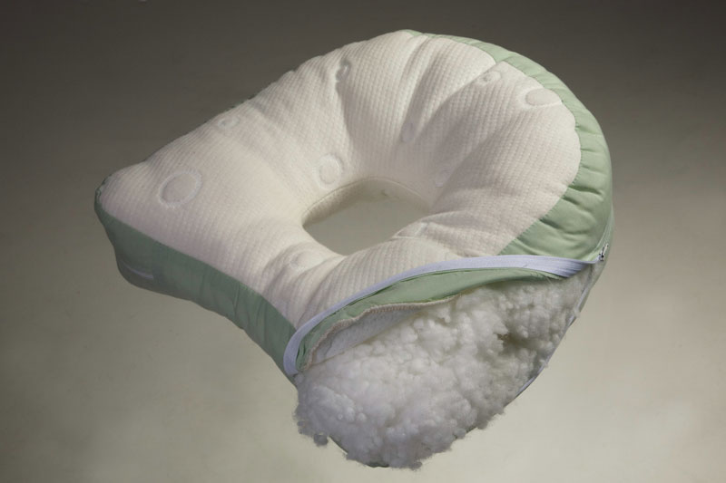 Adult Cluster Filled Ear Pillow to Relieve Ear Ache