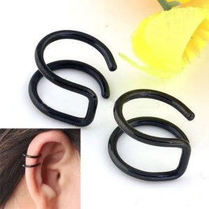 Clip Men Earrings