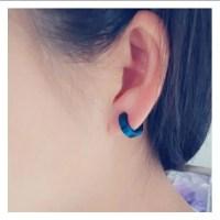 Stainless Steel Ear Cuff Punk Clip Men Earrings   Earrings ...